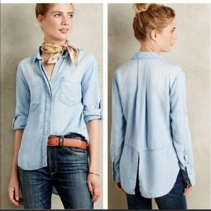 Cloth and Stone thin jean jacket